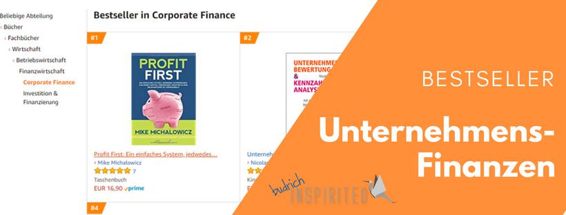 Profit First Bestseller #1