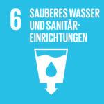 SDG 6 Sauberes Wasser und Sanitäreinrichtungen