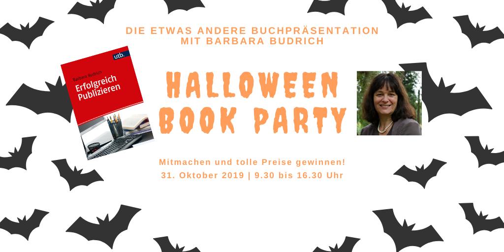 Die Halloween Book Party mit Barbara Budrich