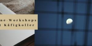 Online-Workshops statt Käfigkoller