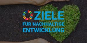 Blog-Banner Ziele für nachhaltige Entwicklung