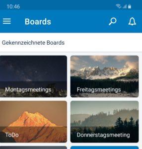 Selbstorganisation per App: Trello